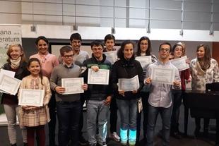 Entregados los premios del XII Concurso de Narrativa Dulce Chacón para escolares del Ayuntamiento de Zafra