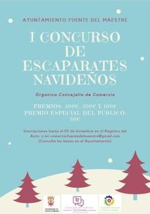 La Concejalía de Comercio de Fuente del Maestre organiza el I Concurso de escaparates navideños