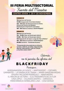 El comercio fontanés se suma al Black Friday y celebra su III Feria Multisectorial