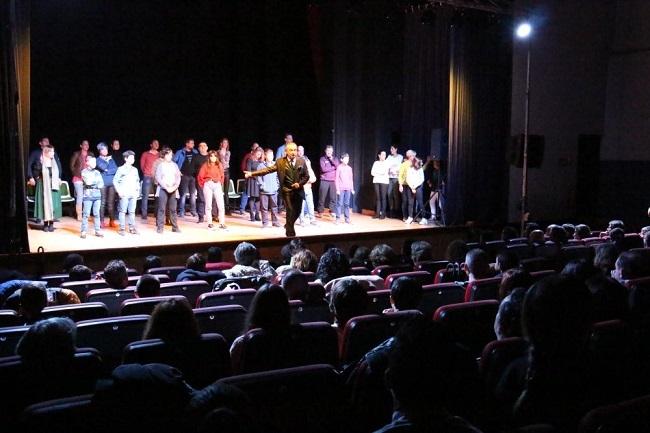 Jeff Toussaint enmudeció al público en el III Festival de Magia Maimona de Los Santos