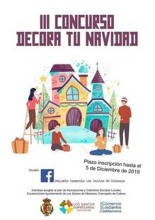 El pequeño comercio de Los Santos lanza la tercera edición del Concurso `Decora tu Navidad´