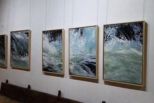 El Museo Santa Clara acoge hasta el 12 de enero la exposición 'Aguas', de Joaquín Montero Cansado