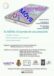 Los Santos de Maimona acoge hoy una charla sobre las adicciones a los móviles