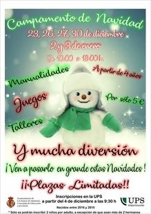 La Universidad Popular de Los Santos abre próximamente el plazo de inscripción para los campamentos infantiles de Navidad