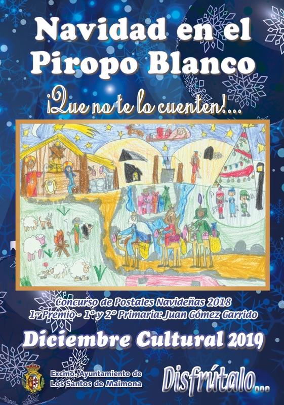 El Ayuntamiento de Los Santos de Maimona presenta un completo programa de actividades para estas navidades