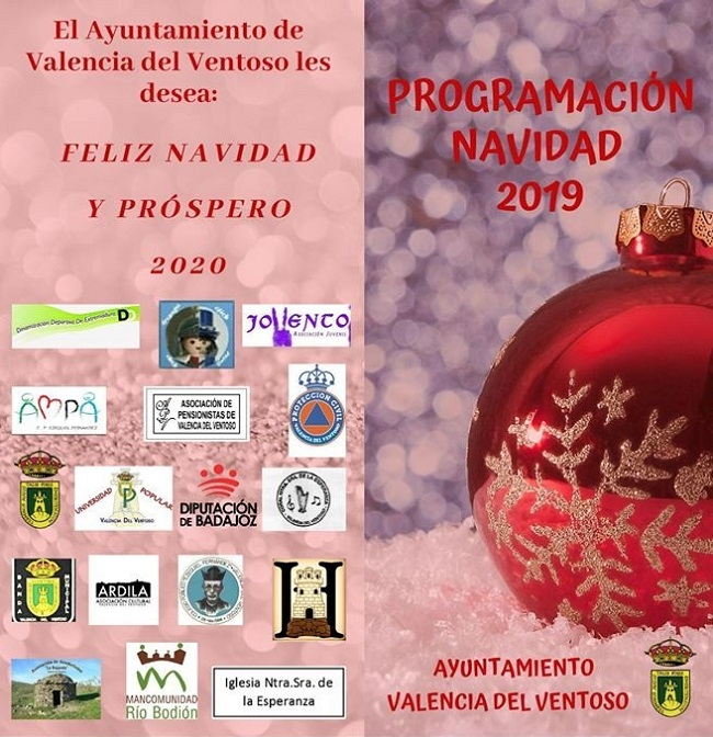 Valencia del Ventoso presenta una amplia programación para su Navidad