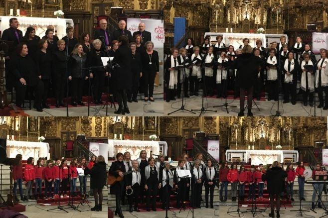 La parroquia acogió la primera parte del XVII Concierto de Villancicos `Ciudad de Fuente del Maestre´