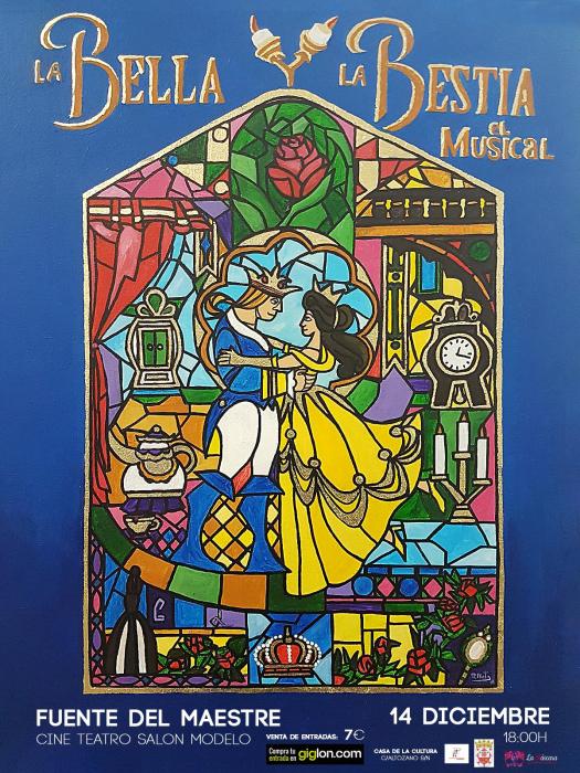 `La Bella y la Bestia: El Musical´ llega este sábado a Fuente del Maestre