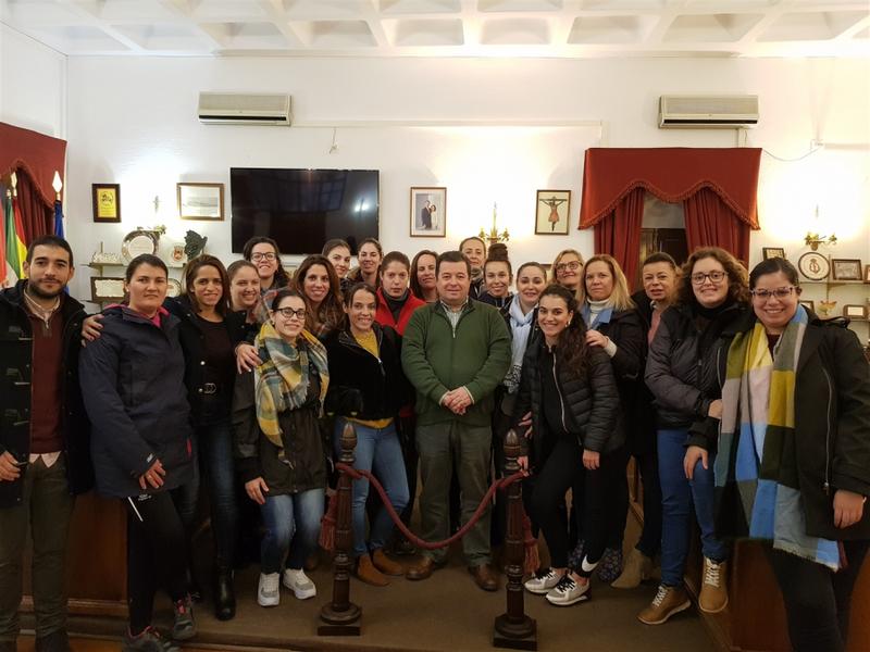 Inaugurada la Escuela Profesional `Castra Vinaria V´ en Fuente del Maestre