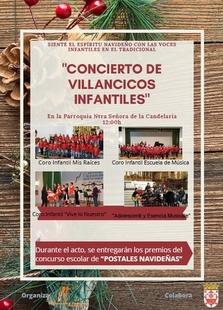 Mañana tendrá lugar en Fuente del Maestre el concierto de Villancicos Infantiles