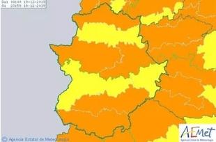 Alerta naranja en Zafra y su comarca por las fuertes rachas de viento