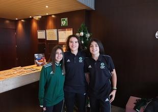 Claudia Murillo, de Valencia del Ventoso, Carla Fernández y Alicia Barrante, de Zafra, disputarán el campeonato de España de Fútbol Femenino