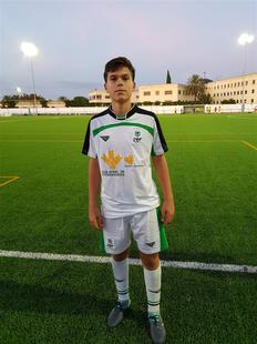 El fontanés Iñaki González ha sido convocado por la selección extremeña de fútbol sub-16 para participar en el campeonato de España
