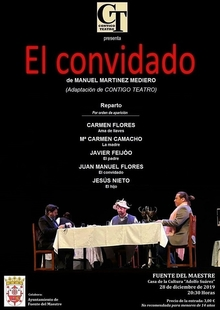 La obra teatral `El Convidado´ llega este sábado a Fuente del Maestre