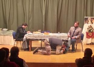 Excelente acogida en Fuente del Maestre a la obra teatral `El Convidado´