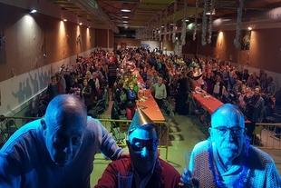 Más de 370 pensionistas fontaneses disfrutaron de su V Fiesta Fin de Año en el Granero