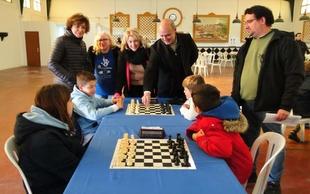El I Torneo Infantil Solidario de Ajedrez de Zafra se celebró con la participación de 30 ajedrecistas