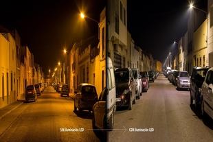 Valencia del Ventoso es uno de los municipios más avanzados en la sustitución de luminarias por tecnología LED