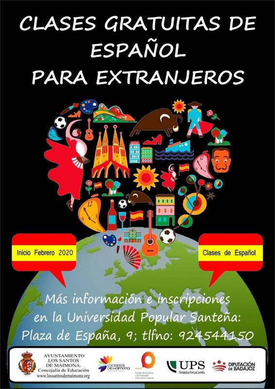 La Universidad Popular santeña impartirá clases de español a partir de febrero