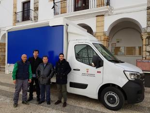 El Ayuntamiento fontanés ha adquirido un camión de 3500kg y carrocería