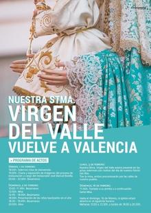 La Virgen del Valle, patrona de Valencia del Ventoso, regresa al pueblo tras su restauración en Sevilla