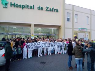 El pleno de Fuente del Maestre aprueba por unanimidad la moción para instar a la Junta a restablecer todos los servicios del Hospital de Zafra