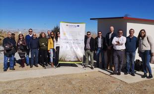 IDIaqua afronta su última fase con las obras de depuración de aguas en Valverde de Burguillos