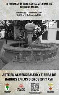 Las XI Jornadas de Historia de Almendralejo y Tierra de Barros se celebrarán el día 16 en Fuente del Maestre