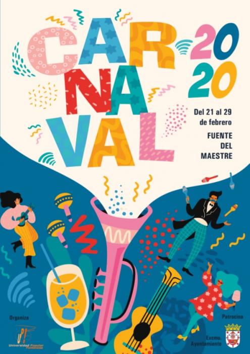 El Carnaval de Fuente del Maestre tendrá lugar del 21 al 29 de febrero