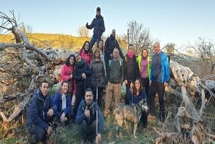 Este domingo nueva ruta senderista en Fuente del Maestre con el grupo `Extrefuente´