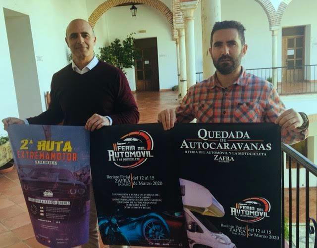 La II Feria del Automóvil y la Motocicleta de Zafra se celebrará del 12 al 15 de marzo con importantes novedades