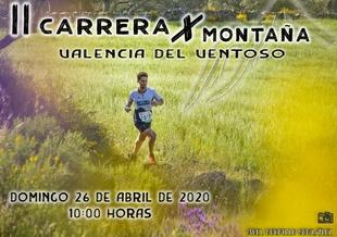Valencia del Ventoso acogerá el domingo 26 de abril la II edición de su carrera por montaña