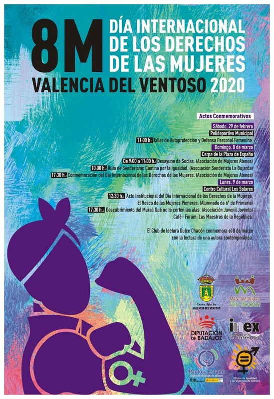 Conmemoración del Día Internacional de las Mujeres en Valencia del Ventoso