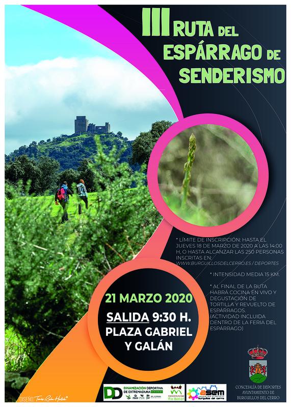Burguillos del Cerro celebra su III Ruta del Espárrago de Senderismo