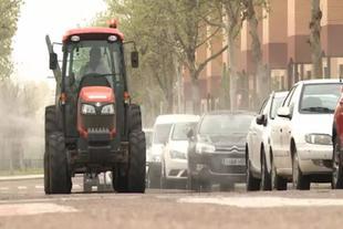 Las tareas de desinfección continuarán en Medina de las Torres y Feria
