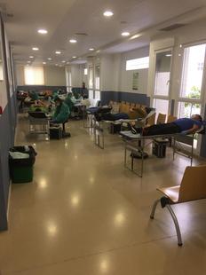Un total de 156 personas donaron sangre entre el lunes y martes en Fuente del Maestre