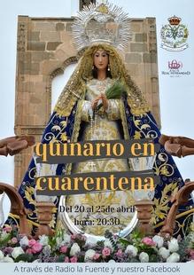 La Hermandad de Nuestra Señora de la Cabeza de Fuente del Maestre prepara su festividad de forma virtual