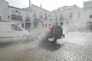 Mañana se desinfectarán las calles de Fuente del Maestre