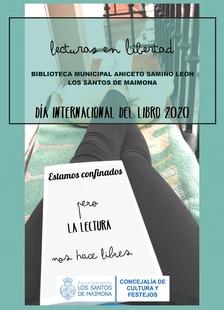 La Biblioteca Municipal de Los Santos propone la actividad Lecturas en Libertad para celebrar el Día Internacional del Libro en confinamiento