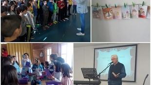 Los centros educativos fontaneses celebran el Día del Libro en cuarentena