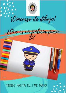 La policía de Fuente del Maestre convoca el concurso de dibujo `¿Qué es un policía para ti?´