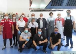 Un menú elaborado por la Hostelería de Monesterio será la cena de 150 sanitarios del Área Llerena-Zafra hoy