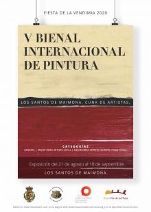 Convocada la V Bienal Internacional de Pintura 2020: `Los Santos de Maimona, cuna de artistas´