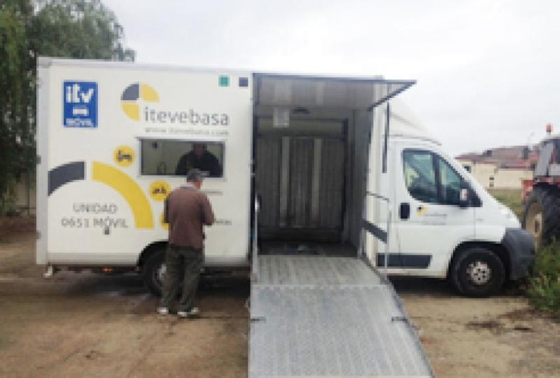 Abierto el plazo en Los Santos de Maimona para solicita la ITV de maquinarias agrícolas, obras, servicios y ciclomotores