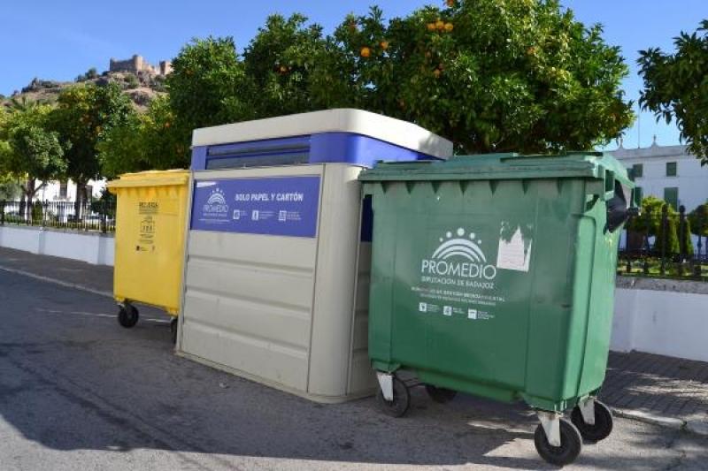 Los contenedores verdes vuelven a estar cerrados para evitar olores