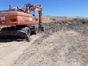 El alcalde de Zafra destaca que el camino del matadero vertebrará el Polígono Agroganadero de la Dehesa Boyal