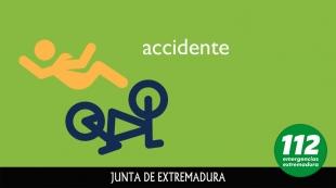 Dos motoristas heridos ayer en un accidente de tráfico cercano a Valverde de Burguillos