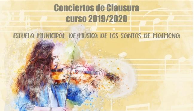 La Escuela Municipal de Música de Los Santos de Maimona clausurará el curso con conciertos virtuales de sus alumnos