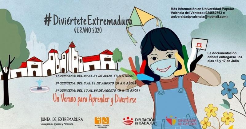 El programa `Diviértete Extremadura´ se desarrollará en tres quincenas en Valencia del Ventoso