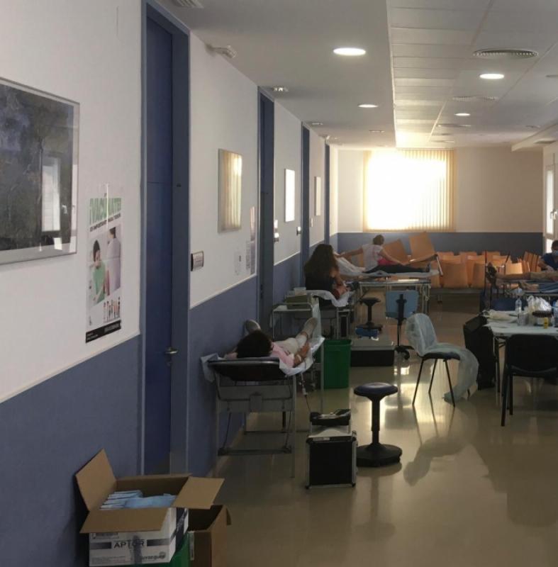 223 personas donaron sangre en Fuente del Maestre durante el miércoles y jueves